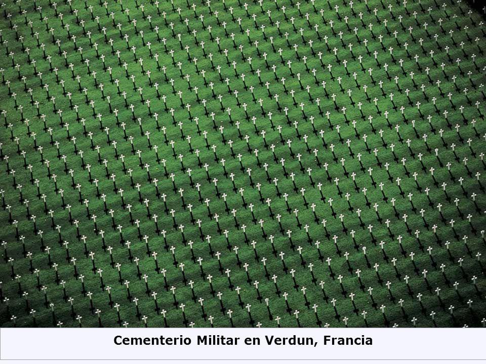 Cementerio Militar en Verdun, Francia