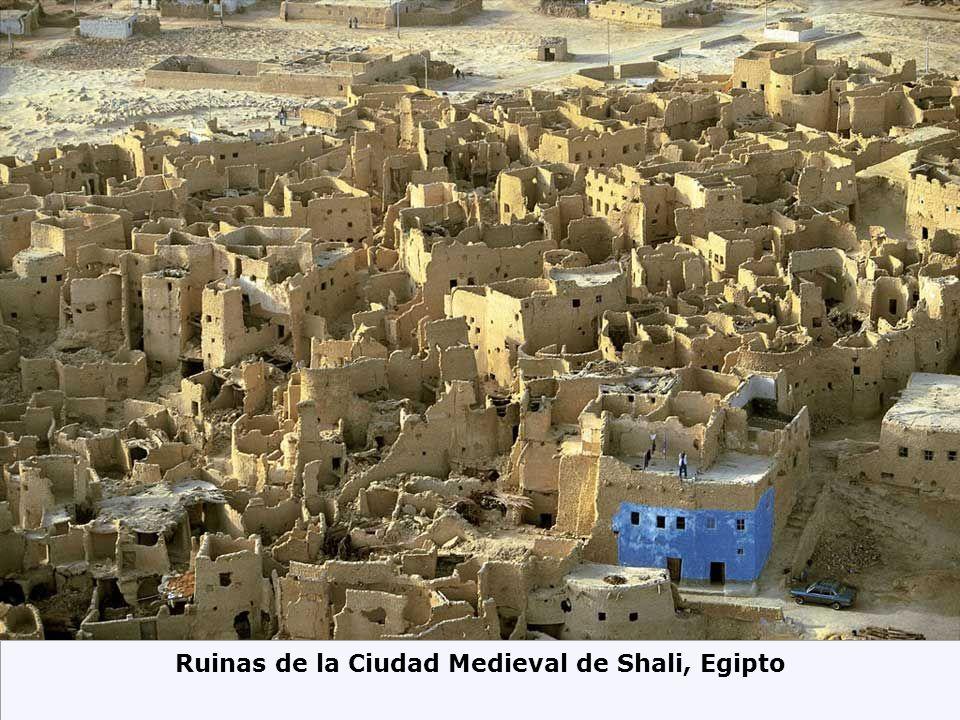 Ruinas de la Ciudad Medieval de Shali, Egipto