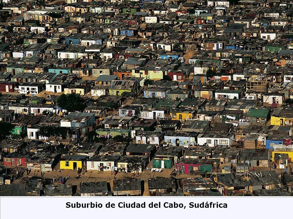 Suburbio de Ciudad del Cabo, Sudáfrica