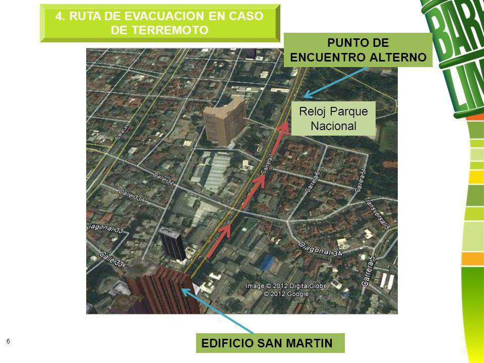 6 EDIFICIO SAN MARTIN PUNTO DE ENCUENTRO ALTERNO 4.