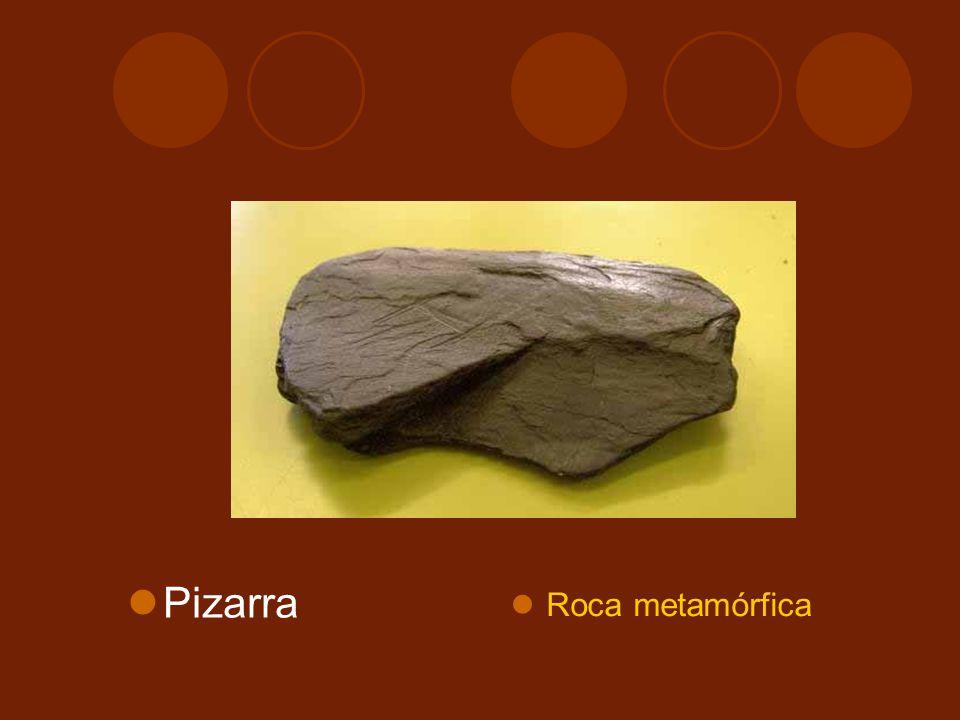 Pizarra Roca metamórfica