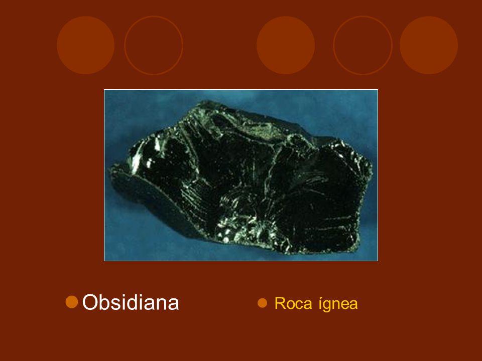 Obsidiana Roca ígnea