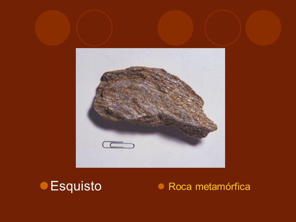 Esquisto Roca metamórfica