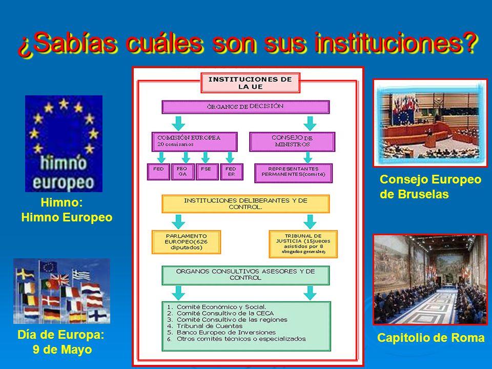 ¿Qué es la U.E., cuándo fue establecida y cuáles son sus sedes? La Unión Europea es un bloque comercial y una organización internacional del ámbito eu