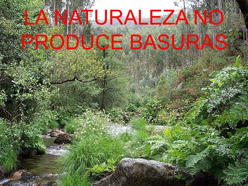 LA NATURALEZA NO PRODUCE BASURAS