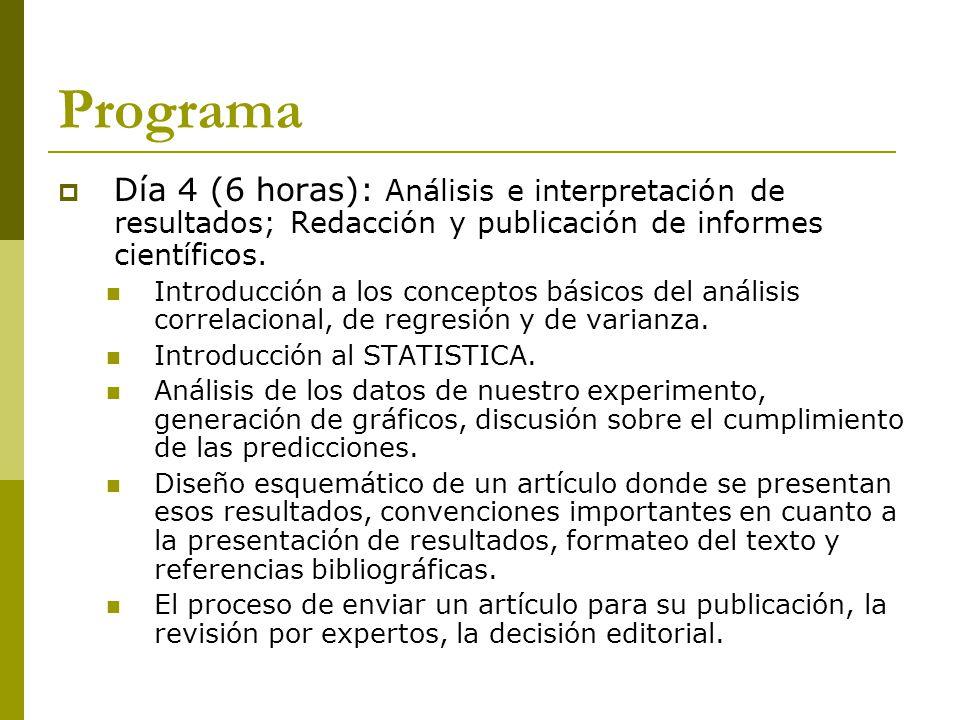Evaluación Examen : 1) Busque una investigación científica reciente publicada en inglés en una revista con índice de impacto superior a 1, que utilice metodología experimental y verse sobre un tema de su interés.