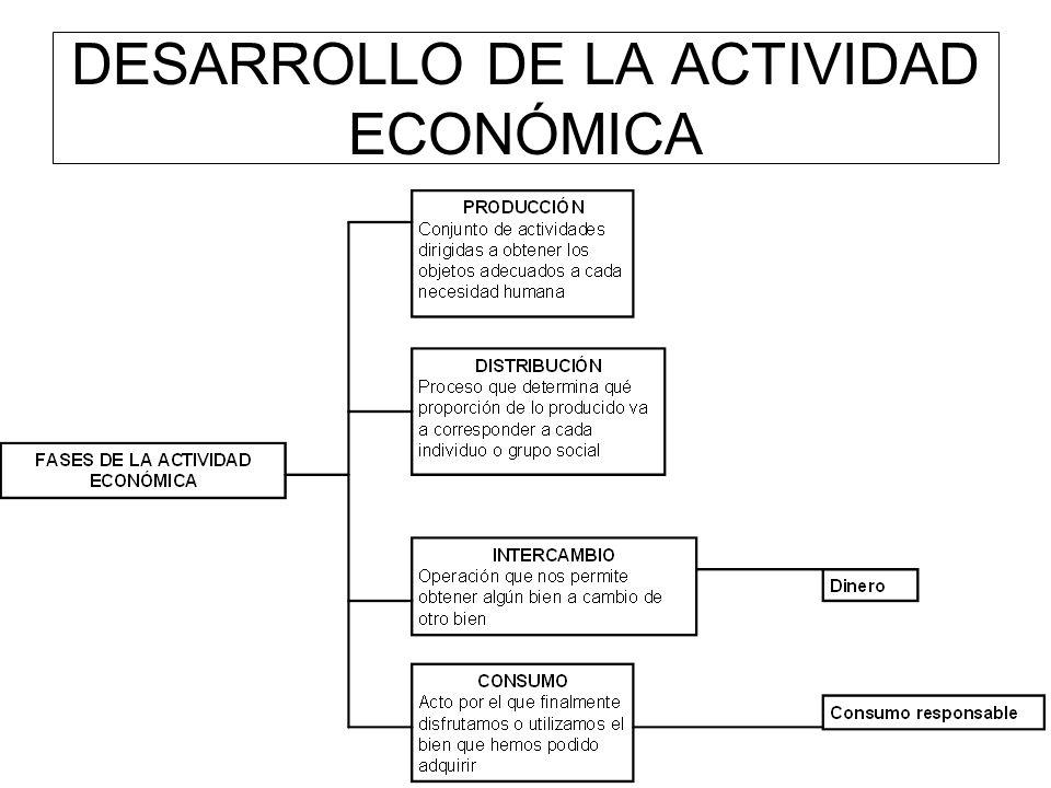 DESARROLLO DE LA ACTIVIDAD ECONÓMICA
