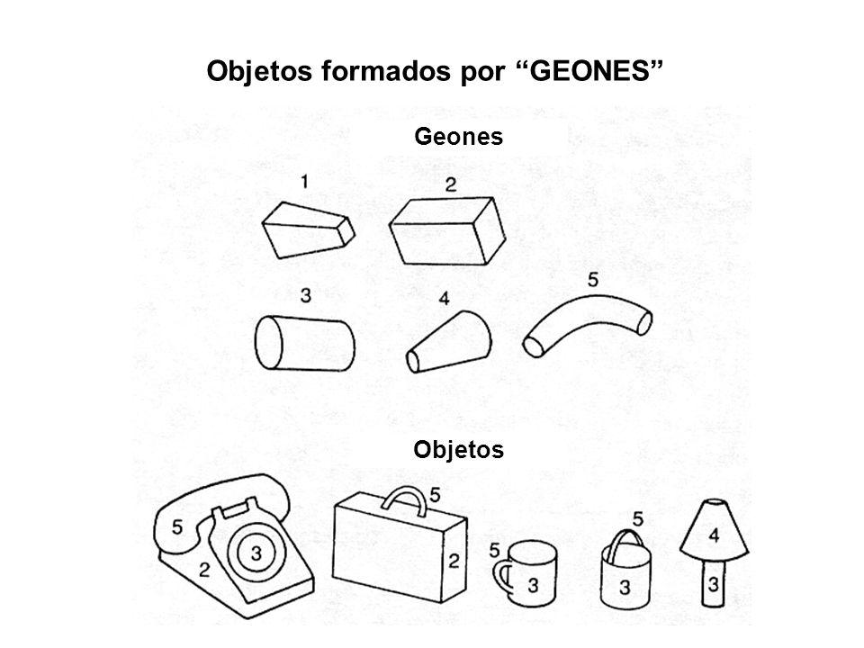 Objetos formados por GEONES Geones Objetos