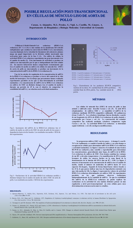 Carazo, A; Alejandre, M.J.; Perales, S.; Vigil, A.; Castillo, M.; Linares, A. Departamento de Bioquímica y Biología Molecular. Universidad de Granada