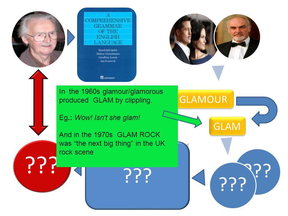 glam rock (noun) Definition: U.K.1970s pop music: a style of pop music in the U.K.