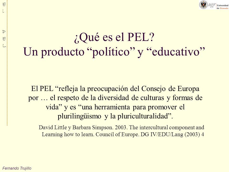 Fernando Trujillo ElPELElPEL ¿Qué es el PEL.