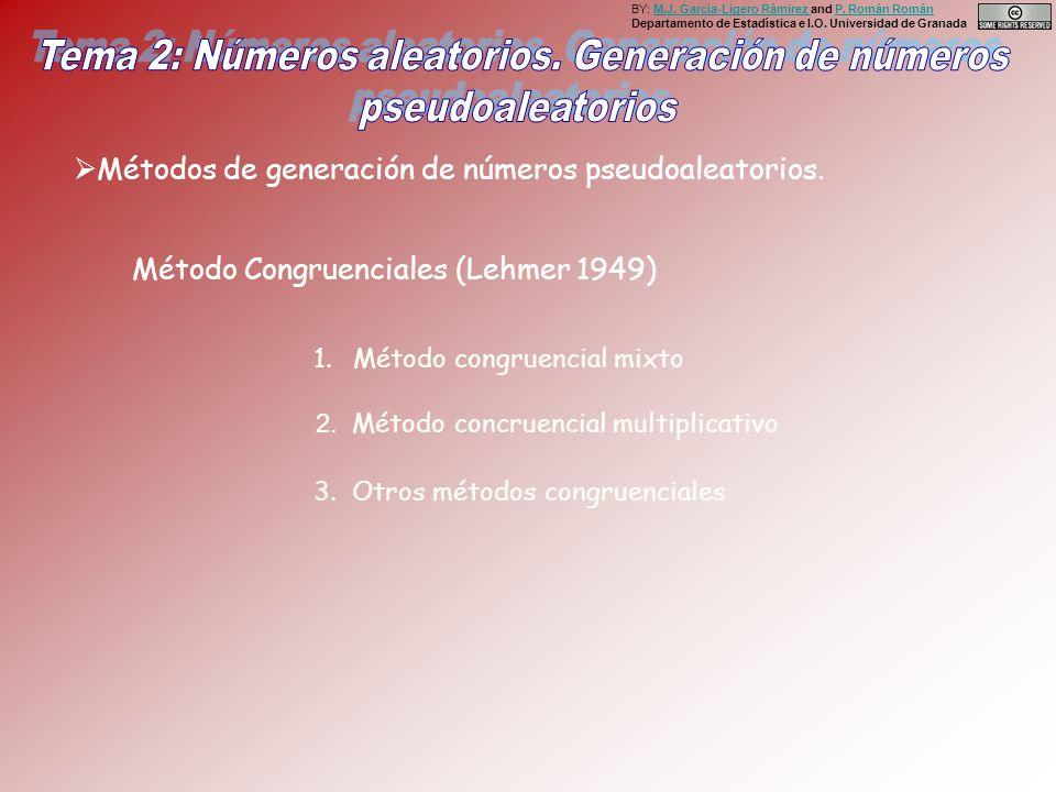 BY: M.J. García-Ligero Rámirez and P. Román Román Departamento de Estadística e I.O. Universidad de GranadaM.J. García-Ligero Rámirez P. Román Román M