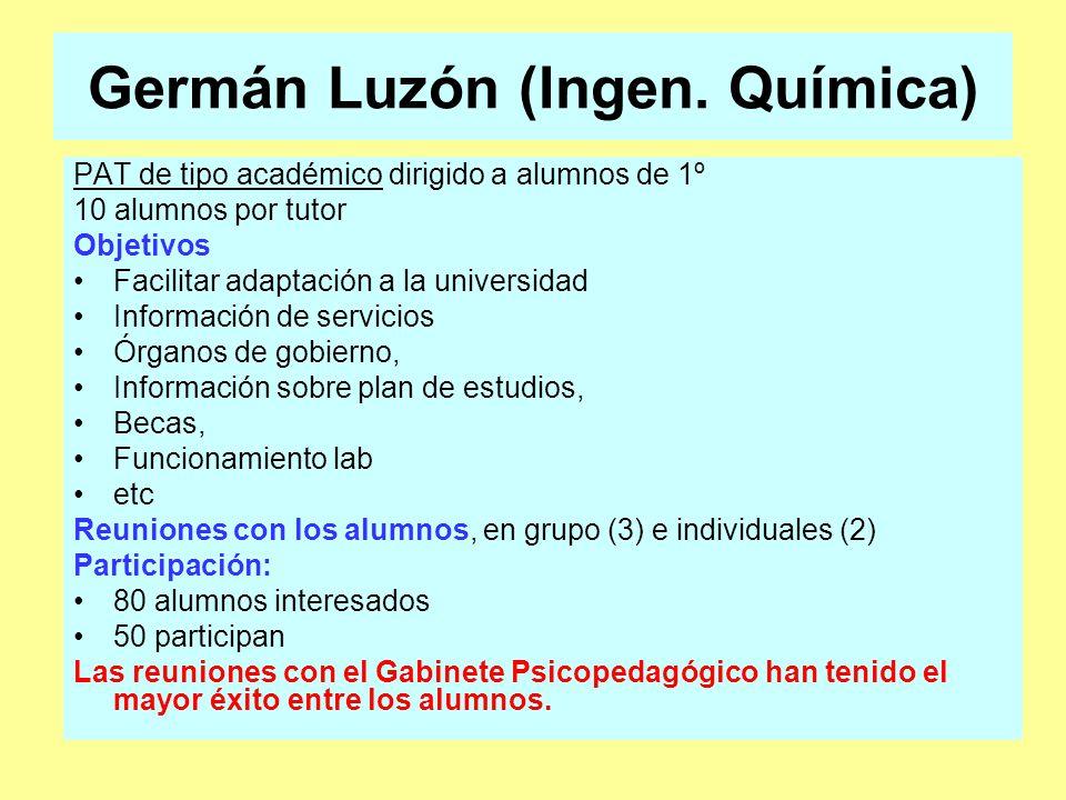 Germán Luzón (Ingen.