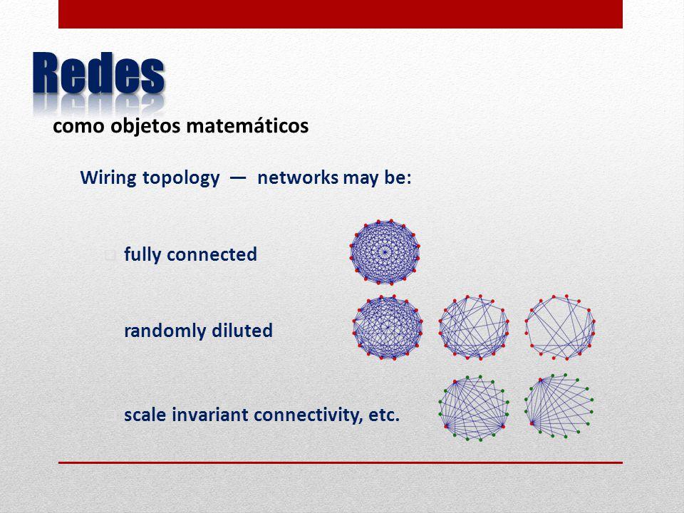 Podemos ahora relacionar la física de celdas con la de bloques y ésta con las propiedades globales.