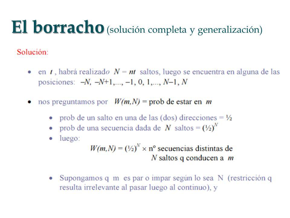 El borracho El borracho (solución completa y generalización)
