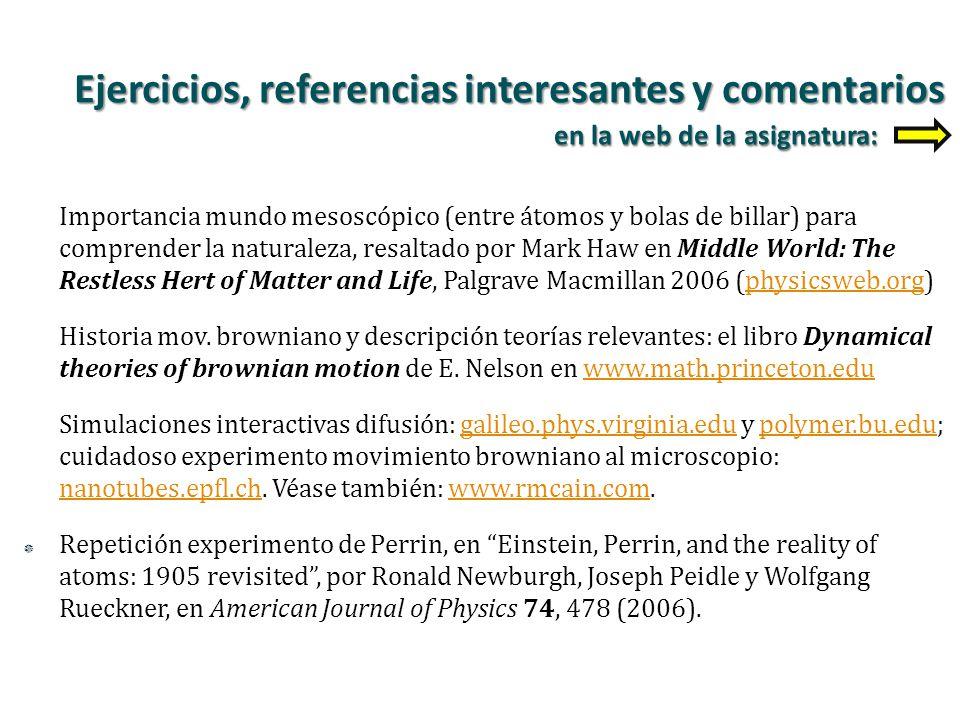 Importancia mundo mesoscópico (entre átomos y bolas de billar) para comprender la naturaleza, resaltado por Mark Haw en Middle World: The Restless Her