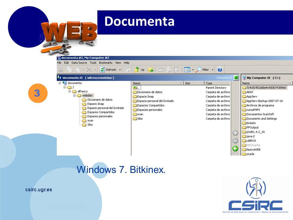 www.company.com csirc.ugr.es 3 Documenta Windows 7. Bitkinex.