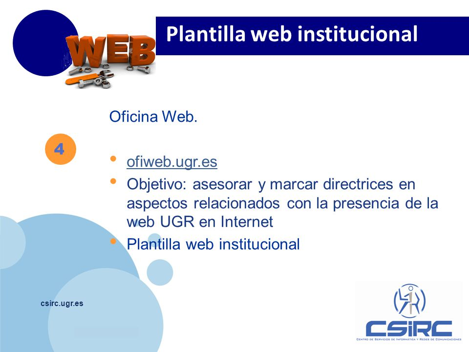 www.company.com csirc.ugr.es Oficina Web.