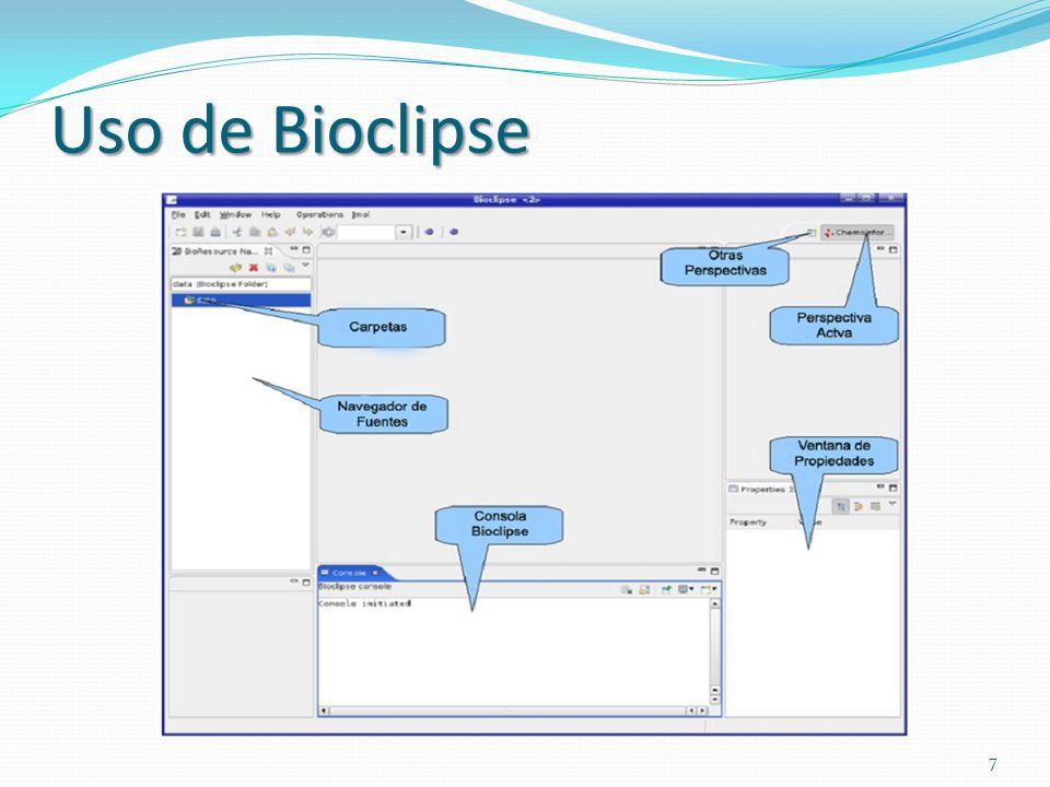 Uso de Bioclipse 7