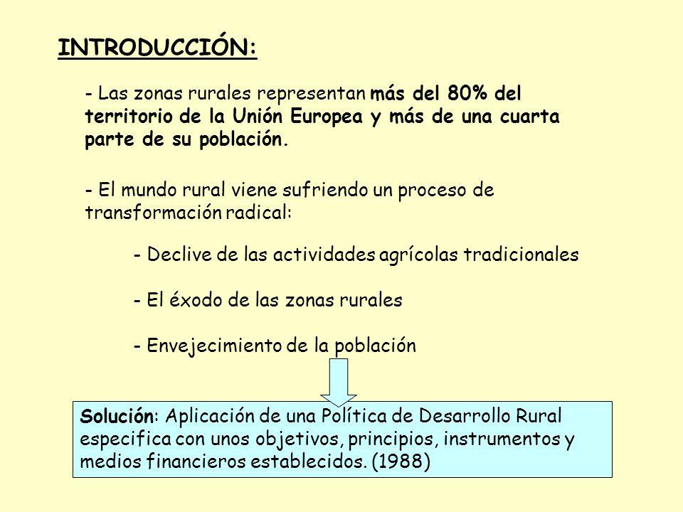 1988: Se comenzó con la reforma de los Fondos Estructurales, concentrando los tres fondos y las zonas a subvencionar en tres objetivos actualmente: - El objetivo nº 1 tiene como finalidad promover el desarrolloobjetivo nº 1 y el ajuste estructural de las regiones menos desarrolladas cuyo PIB medio per.