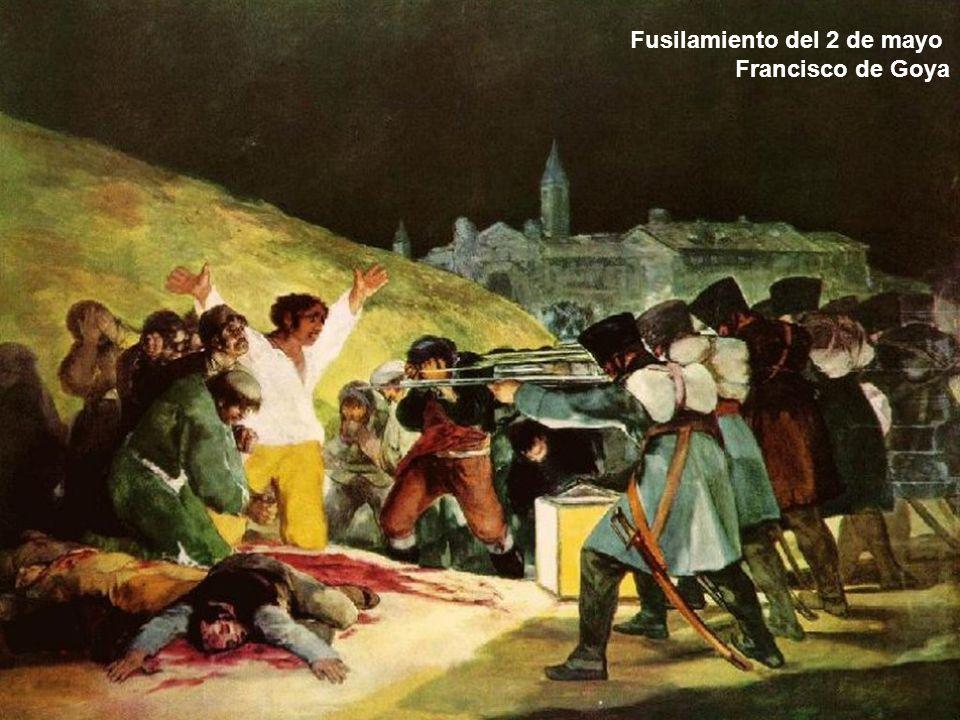 Fusilamiento del 2 de mayo Francisco de Goya