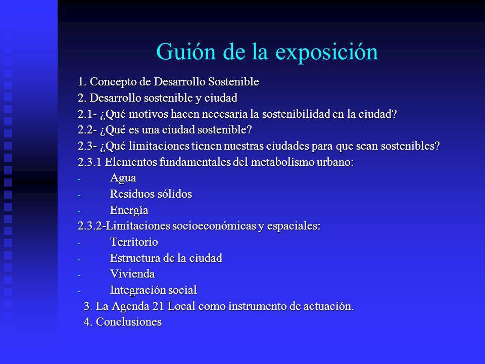 Situación de la Agenda 21 en España Baja implantación de la A21L: en 1999 más de dos terceras partes de los grandes municipios españoles ignoraban esta iniciativa.