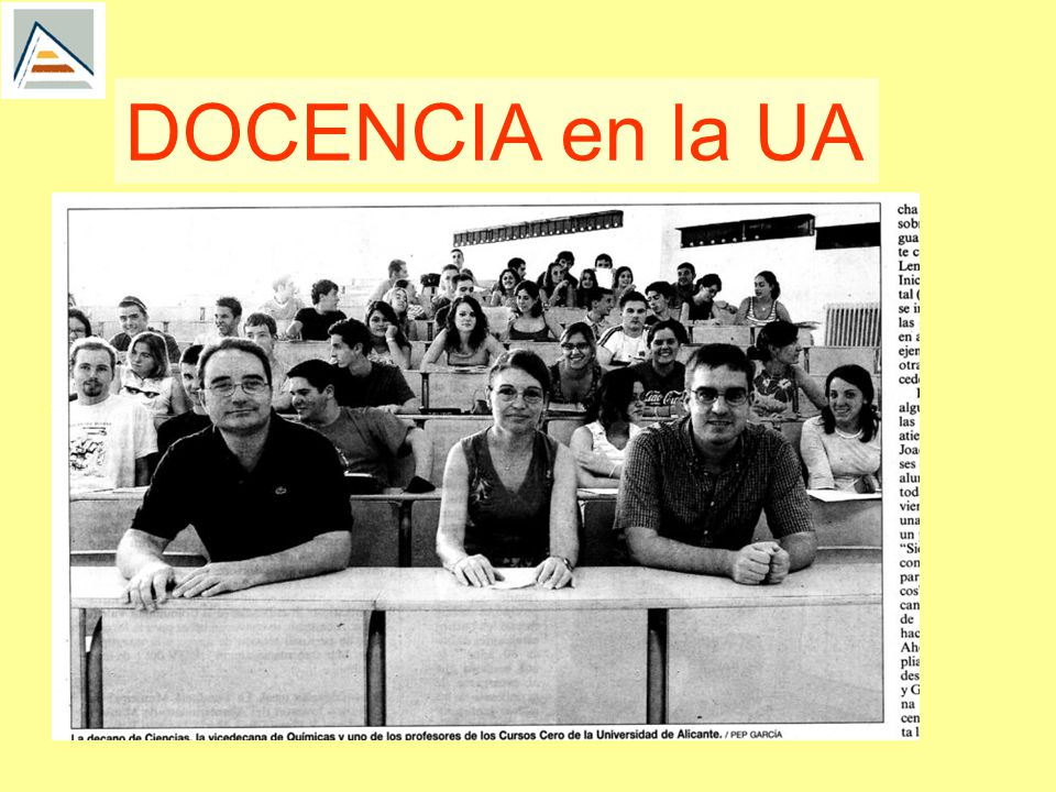 DOCENCIA en la UA