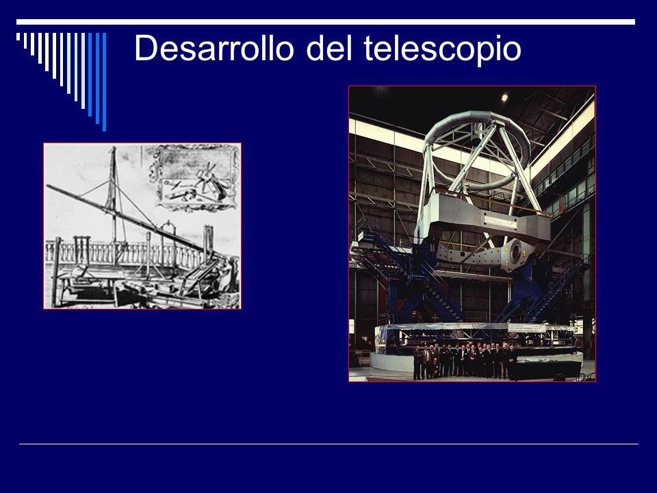 Desarrollo del telescopio
