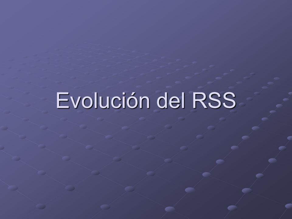 Evolución del RSS