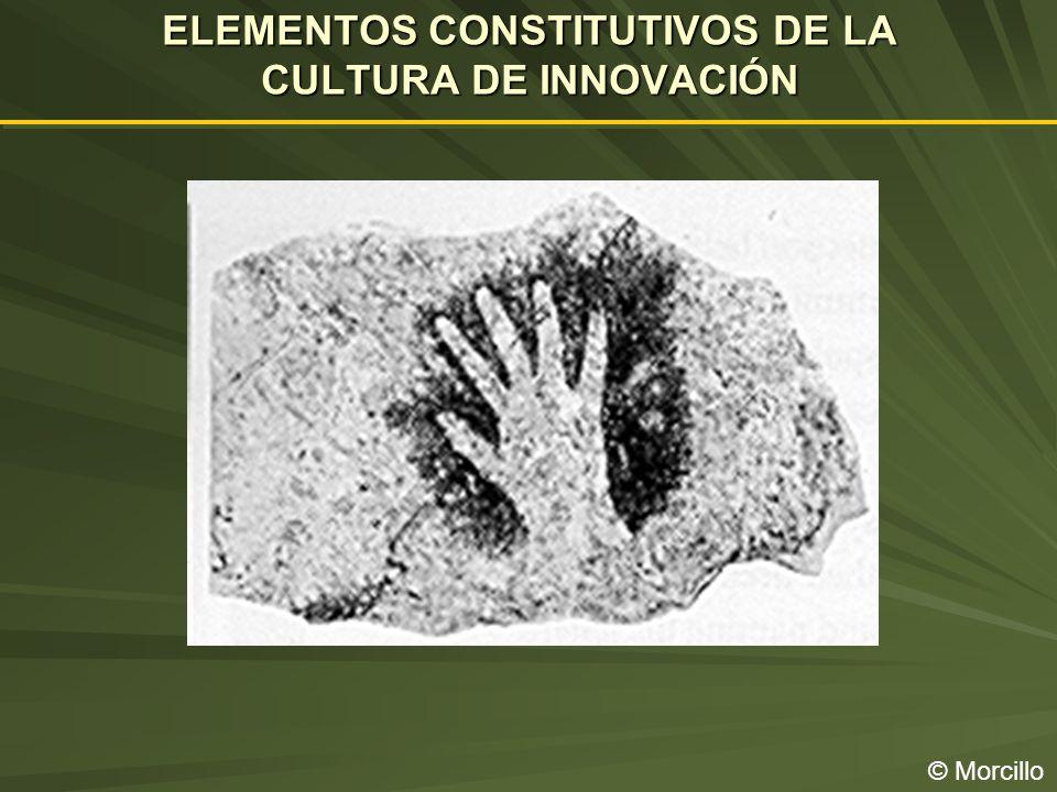 ELEMENTOS CONSTITUTIVOS DE LA CULTURA DE INNOVACIÓN © Morcillo