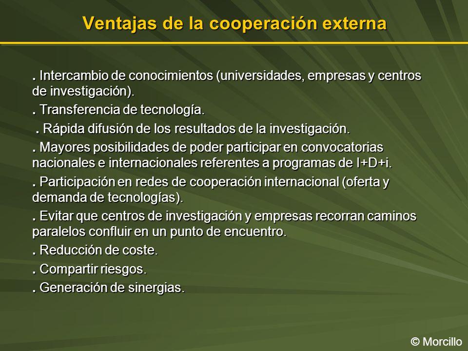 Ventajas de la cooperación externa © Morcillo.