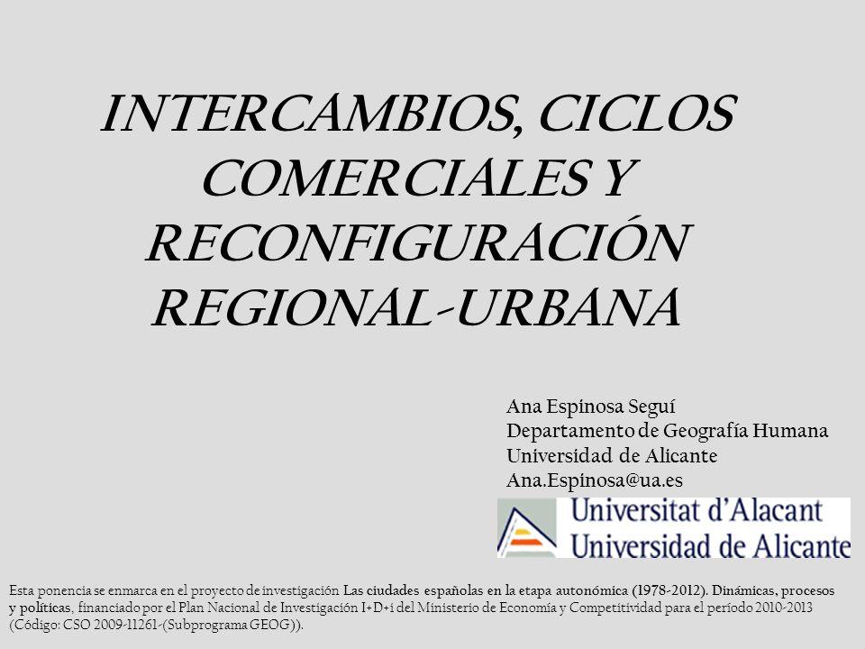 Esta ponencia se enmarca en el proyecto de investigación Las ciudades españolas en la etapa autonómica (1978-2012).