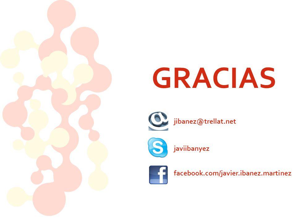 GRACIAS jibanez@trellat.net javiibanyez facebook.com/javier.ibanez.martinez