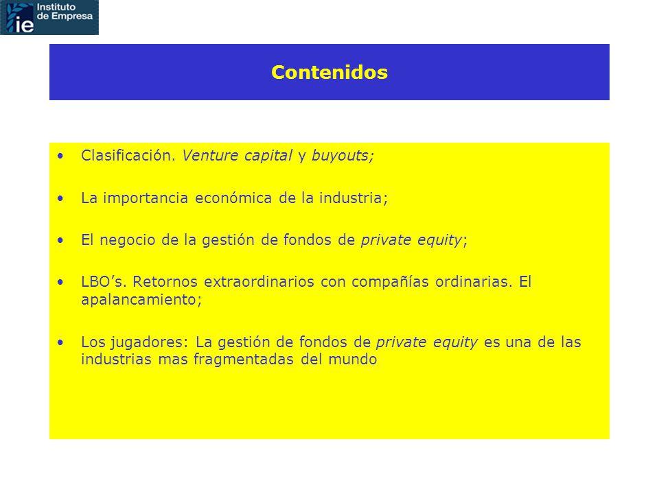 Contenidos Clasificación.