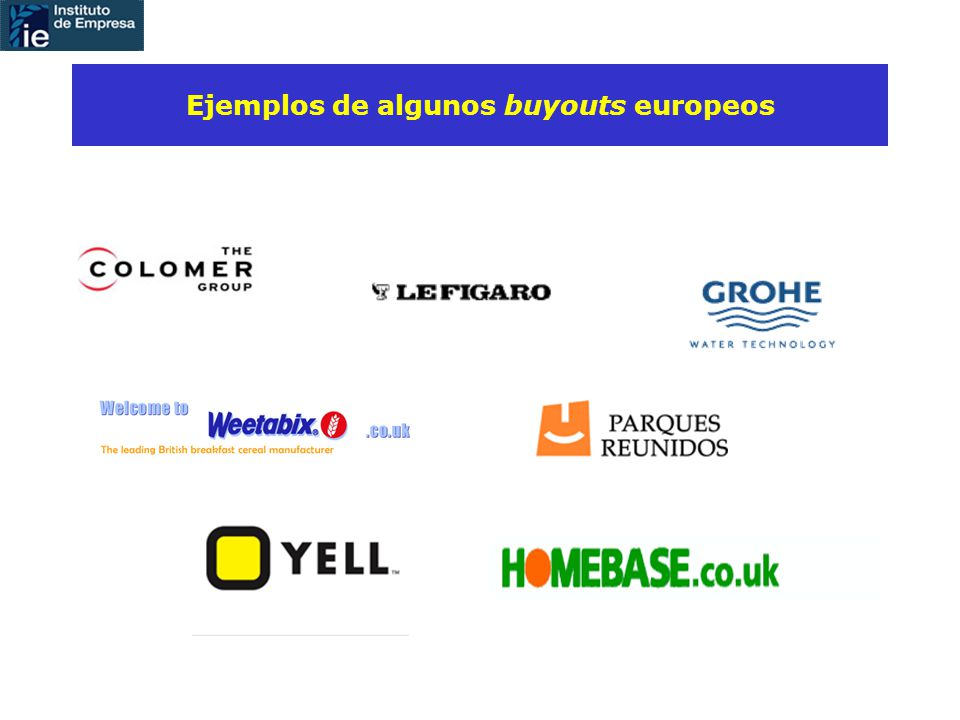 Ejemplos de algunos buyouts europeos
