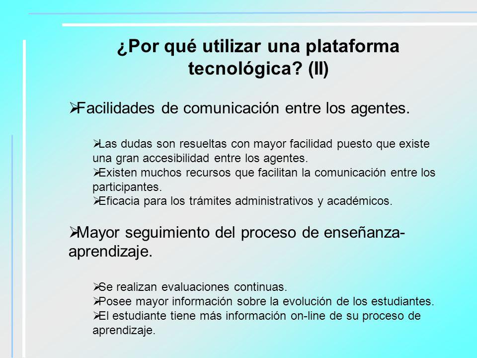 Algunas plataformas tecnológicas Blackboard.http://www.blackboard.com WebCT.