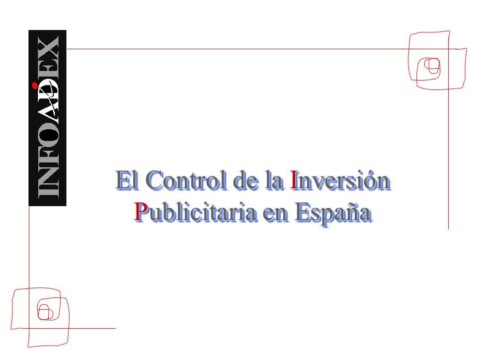 El Control de la Inversión Publicitaria en España