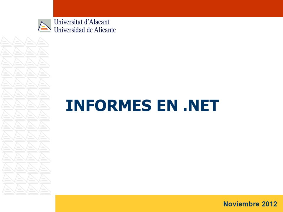 INFORMES EN.NET Noviembre 2012