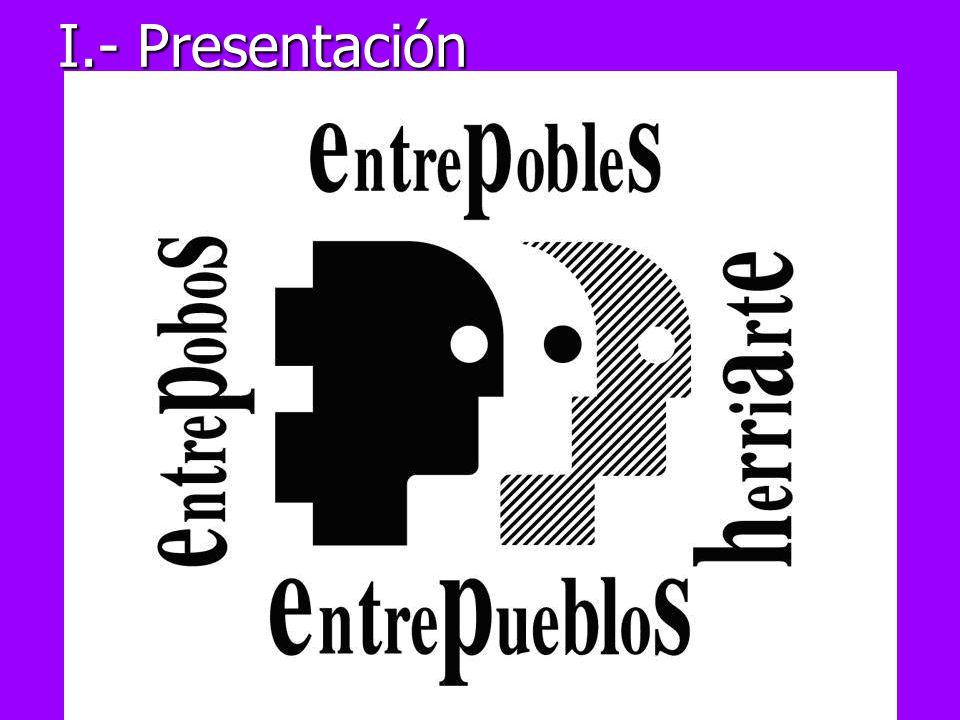 I.- Presentación