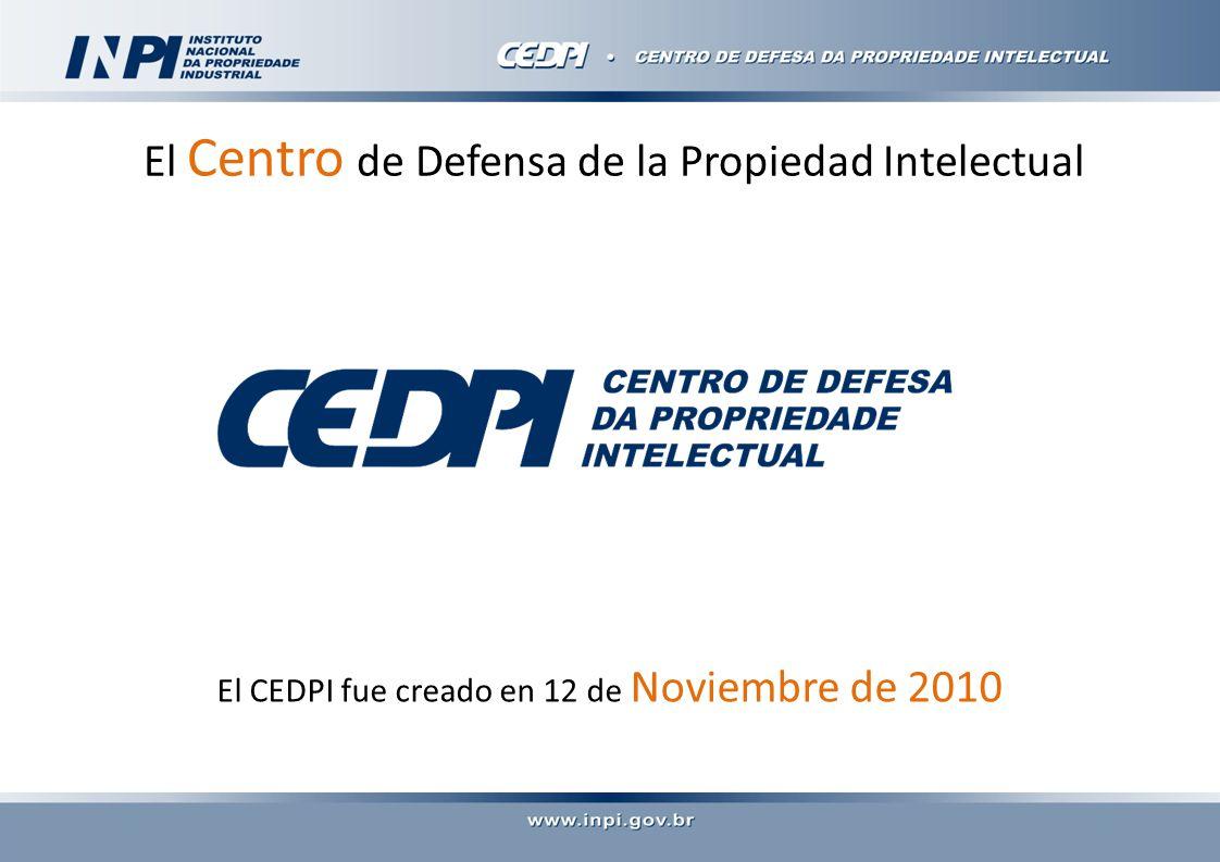 El Centro de Defensa de la Propiedad Intelectual El CEDPI fue creado en 12 de Noviembre de 2010