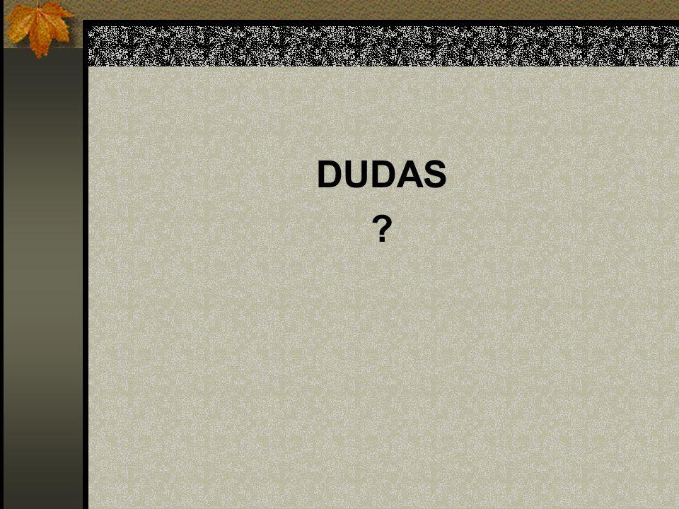 DUDAS ?