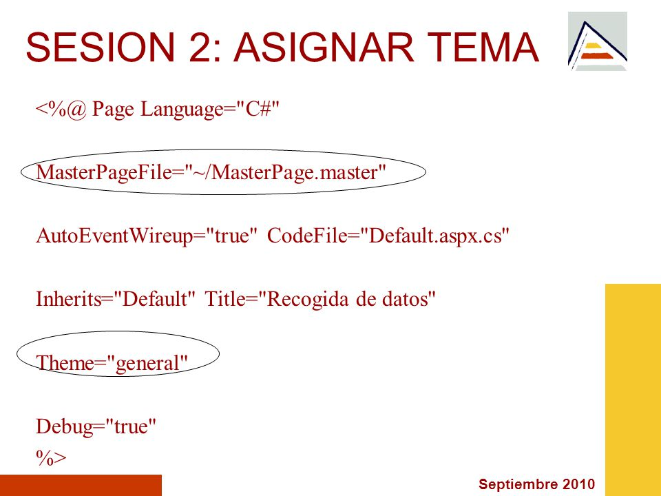 Septiembre 2010 SESION 2: ASIGNAR TEMA Named Skins Named Skins