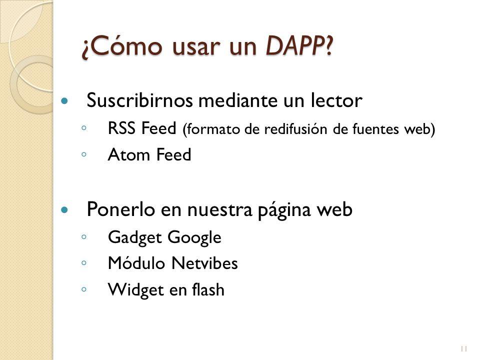 ¿Cómo usar un DAPP.