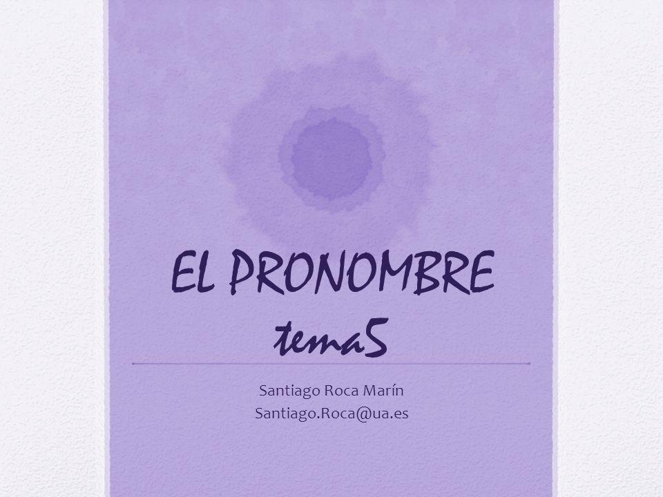 Definición y clases Pronombres son las palabras que señalan o representan a personas u objetos, o remiten a hechos ya conocidos por el hablante y el oyente.