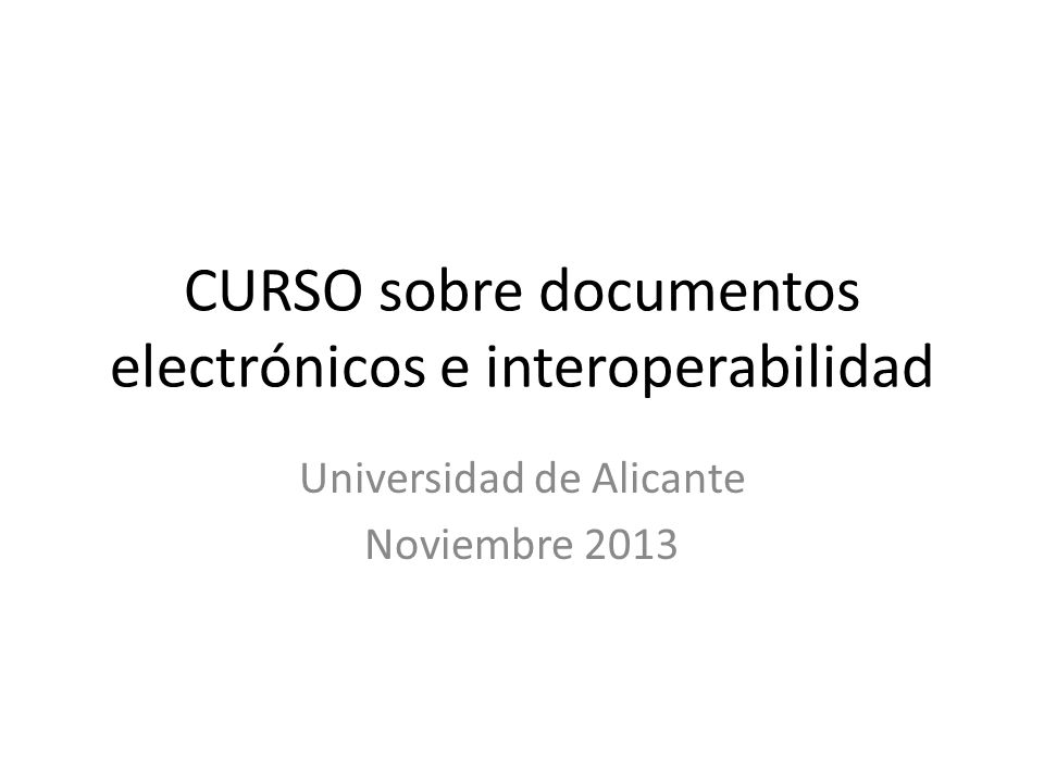 iArxiu: Funcionalidades Modelo de referencia: – ISO 14721:2003 Open Archival Information System – ISO 20652:2006 Space data and information transfer systems --Producer-archive interface – Methodology abstract standard