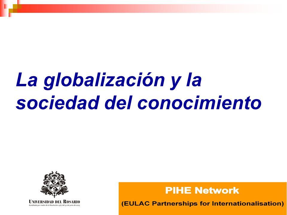 Estudio Banco Mundial – IMHE/OCDE Educación Superior en América Latina.
