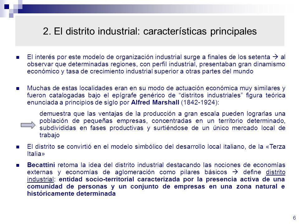27 5. Clusters y distritos industriales