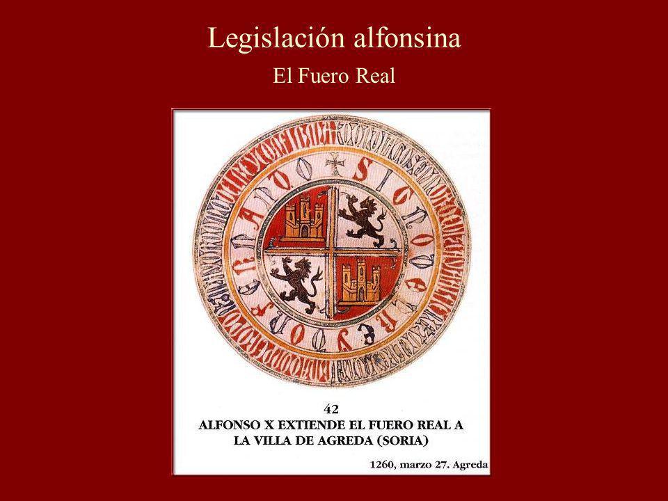 Legislación alfonsina El Fuero Real