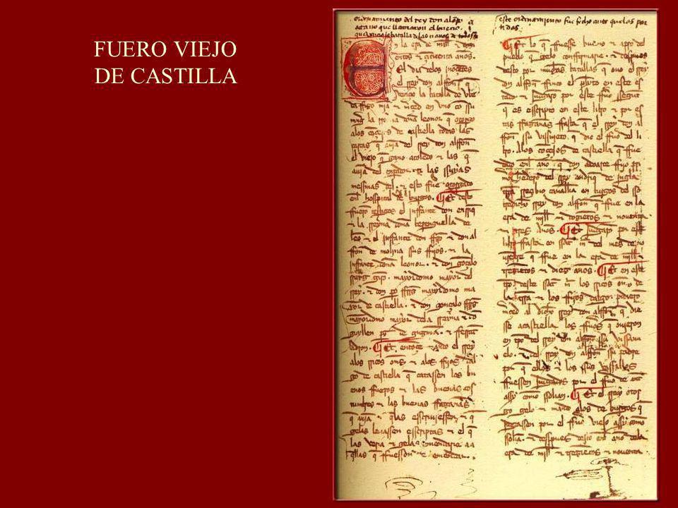 FUERO VIEJO DE CASTILLA