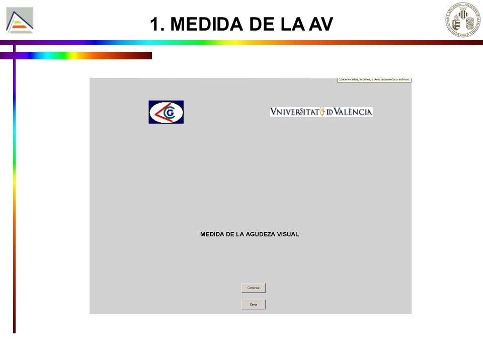 3. MEDIDA DE LA AVE